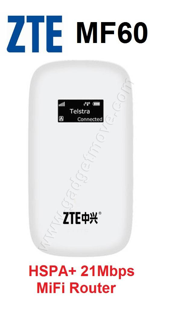ZTE MF61 21Mbps Wireless Modem mifi Router Personal Mobile Hotspot