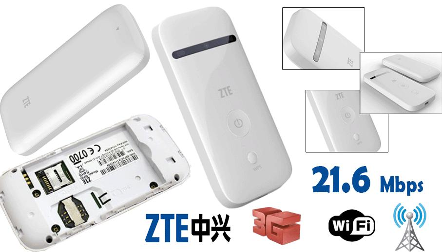 ZTE MF65 21Mbps HSPA+ Wireless Modem MiFi Router MF65 (Unlock)