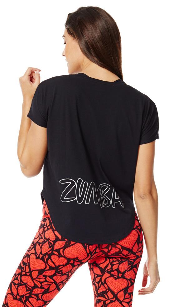 zumba t shirt t112 end 10 29 2017 9 24 pm myt. Black Bedroom Furniture Sets. Home Design Ideas
