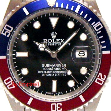 Rolex Submariner Blue Black Bezel