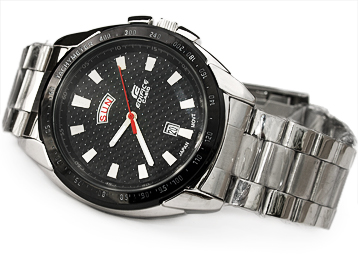 NEW !! CASIO [ EDIFICE ] Japan Tachymeter Movt WATCH EF 535