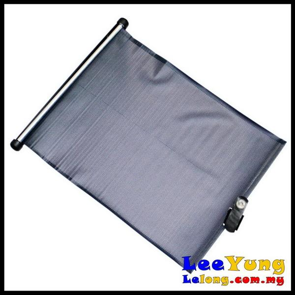 portable roller sun shade for all cars protect interior from sun heat melaka end time 5 2 2013. Black Bedroom Furniture Sets. Home Design Ideas