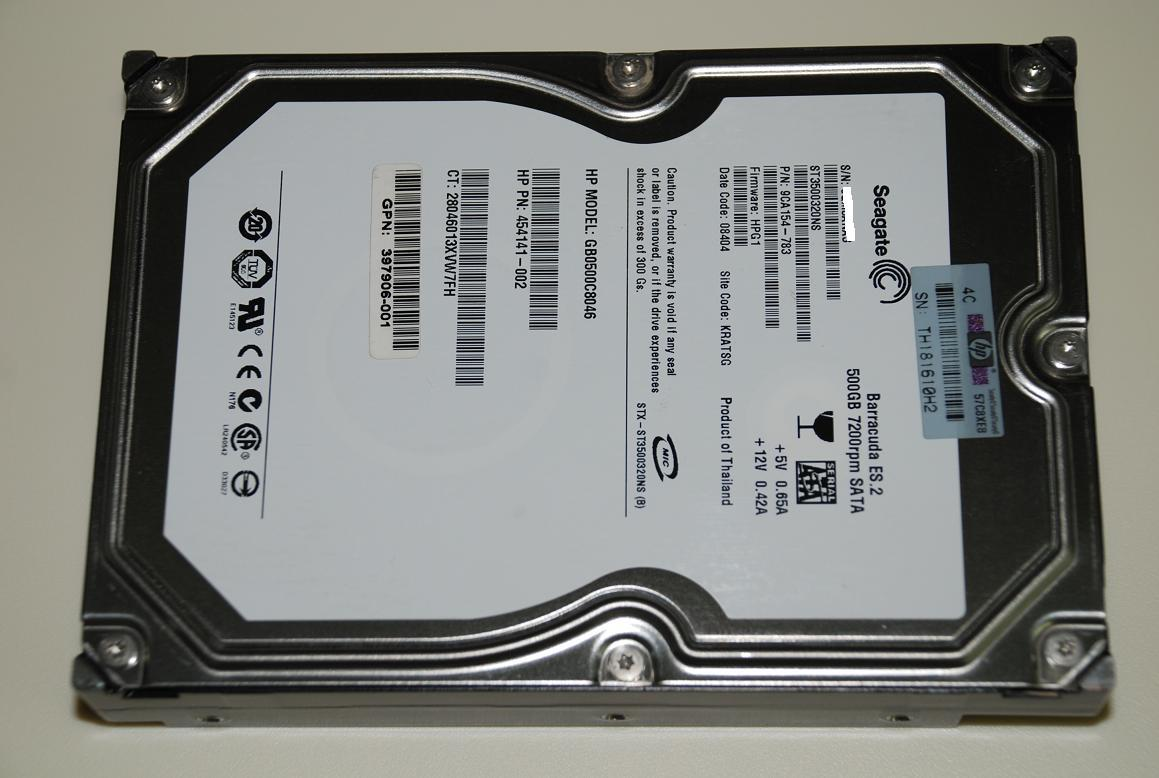 Seagate Enterprise Grade Sata Harddisk Johor End Time