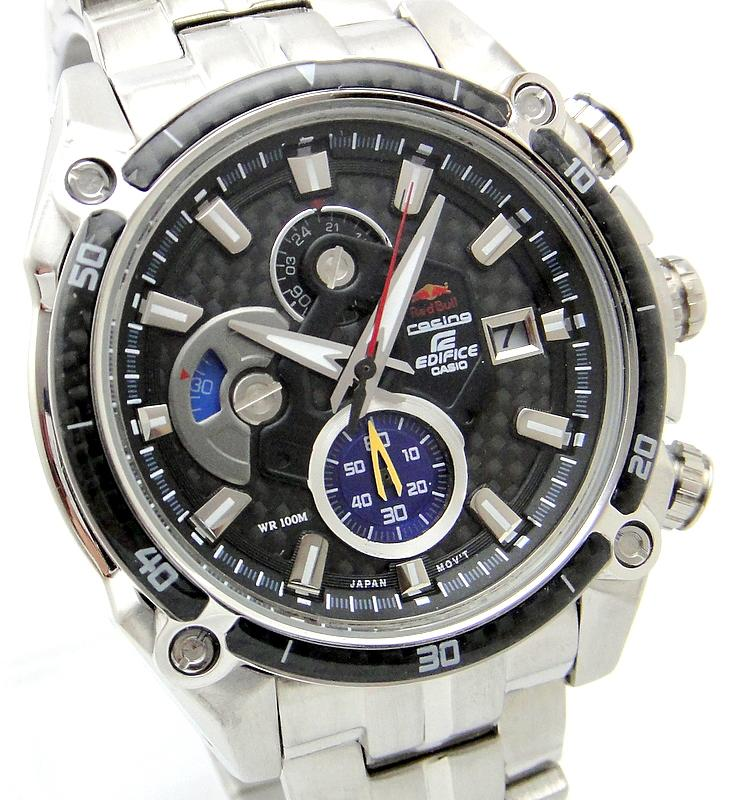 CASIO EDIFICE Red Bull Racing LIMITED EDITION Watch EFE-504RBSP-1AV.*S