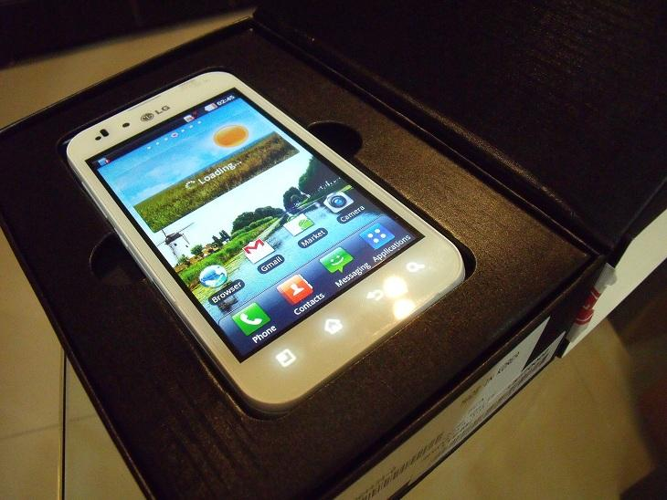LIMITED WHITE) LG Optimus Black P970,Android,Wifi,5MP,Int.2GB+2GB ...