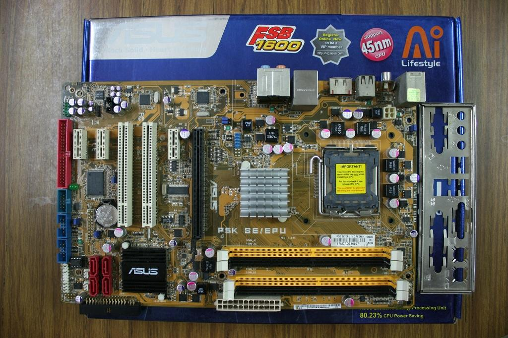 Is there drivers for asus p5k on windows 7 64 bit