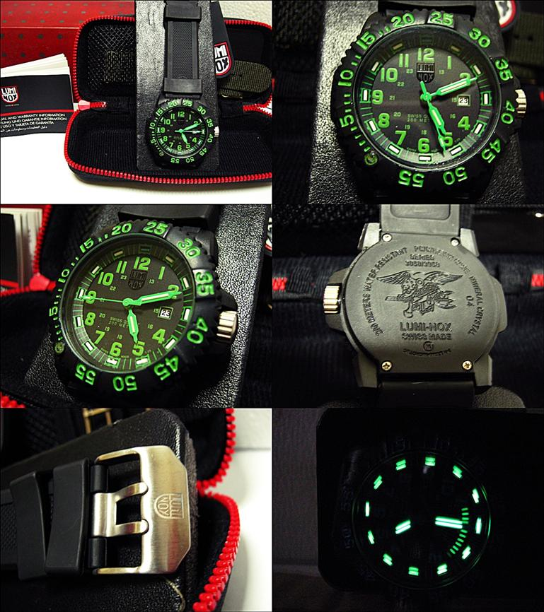 Quike check real Luminox colormark in 5 places ... - YouTube