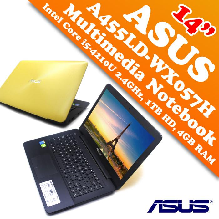 Asus A455LD WX057H 4th I5 Multimedia Gaming Notebook