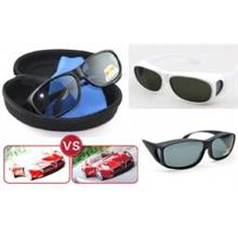 Polarized Fit Over Unisex Sunglasses  (Day / Night time Driving)