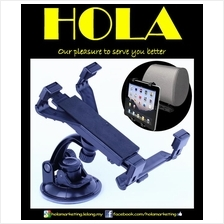 iPad Samsung Tablet Universal Car Windshield & Headrest Mount Holder