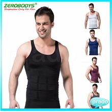 Men Body Shaper Vest Original Slimming Singlet [S M L XL 4 Colour]
