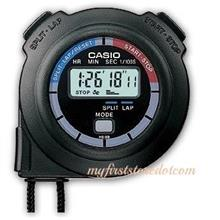 Genuine Casio HS-3V Hand Held 7-digit Stopwatch Sport Fitness