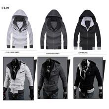 Korean Fashion / Casual Hooded Jacket / Coat CL09