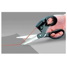 Laser Scissors Straight Guide Cut Fabric Cloth Paper Scissors