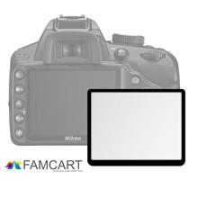LCD Optical Glass Screen Protector for Nikon D3000/D40