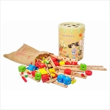 Danni Supper Wooden Tool Kit (Education Wooden Toys)