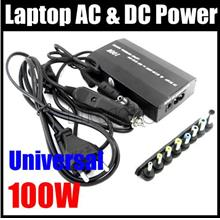 1 NEW 100W Universal notebook USB DC 12V Car Power Inverter/Adapter