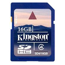 KINGSTON 16GB SD HC Memory Card NIKON CANON SAMSUNG SONY OLYMPUS