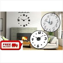 Free Shipping-Interior Decoration DIY Wall Clock