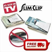 Free Shipping-As Seen On TV: Slim Clip - Money,Credit Card,Note Clip