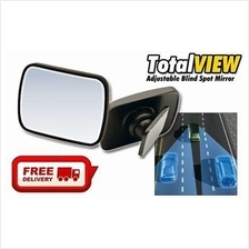 Free Shipping-Total View 360 Degree Adjustable Blind Spot Mirror