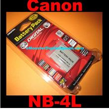 Canon NB-4L NB4L Digital IXUS 30 40 50 55 60 65 IXY Digital L3 Battery