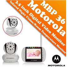 Motorola MBP 36 3.5 inch Digital Video Baby Monitor (Color LCD Screen)