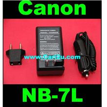 Canon PowerShot G10 G11 G12 SX30 IS NB7L NB-7L Battery Charger
