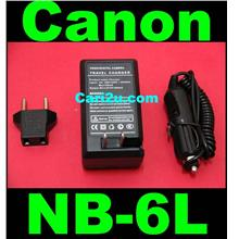Canon NB6L NB-6L IXUS 85 PowerShot S90 S95 Battery Charger