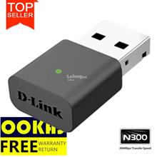 D-LINK Wireless N 300mbps USB Mini WiFi Adapter DWA-131
