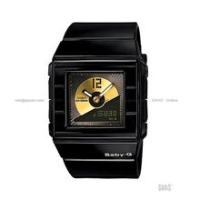 CASIO BGA-201-1E Baby-G Ana-Digi CD Record Casket resin strap black