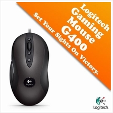 Logitech Optical Gaming Mouse G400 with High-precision Optical Engine