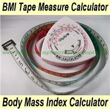BMI Tape Measure Calculator/ Body Mass Index / 150 cm Tape Measure