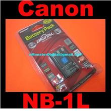 Battery for Canon NB1L NB-1L NB-1LH NB1LH IXUS 400 500 Battery