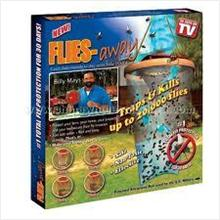 2 Sets of New Flies Away - Kill Up to 40,000 flies for 60days usage