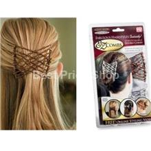 2 pcs of Ez Comb - Easy way for Fabulous Hairstyles (1 Pack)