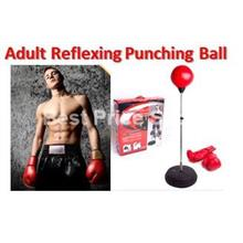 Reflexing Punching Ball with Boxing Glove (Survival Knife Option)