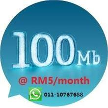 new prepaid plan 6sen/30sec BFF;  13sen/sec for all;  RM20/600Mb