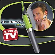 READY STOCK ! AS012 Men Micro Touch Max Trimmer Shaver Travel trimmer