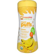 Happy Baby Organic Puff Finger Food - Banana