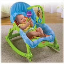 Fisher Price Precious Planet Newborn to Toddler Portable Rocker +Gifts