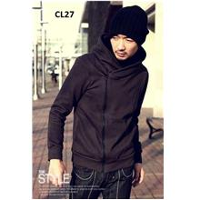 CL27 Men's Sweater Hoodie Cardigan Baseball/ Spring Korean Men