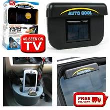 Free Shipping-Auto cool ventilation system for car , solar cooler