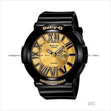 CASIO BGA-160-1B Baby-G Ana-Digi neon illuminator resin black gold