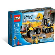 LEGO 4201 City Mining Loader and Tipper MISB NEW