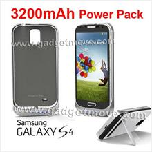 Samsung Galaxy S4 Backup Battery 3200mAh Power Case Cover / Bank