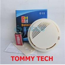 wireless alarm smoke detector can connect with GSM alarm system