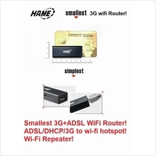 Smallest Hame A15 3G USB ADSL pocket mini Wifi Mifi Router A1 A2