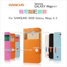 Baseus Samsung Galaxy Mega 6.3 Folio S View Leather Case Smart Cover