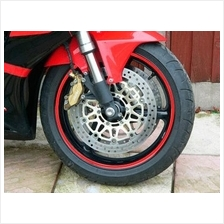 Rim Safety  Reflective Sticker(up to 18inch wheel for 4 sides)